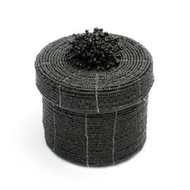 Kralenmandje zwart
