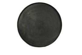 Dienblad Ø55 cm aluminium black/brons