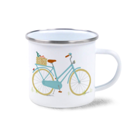 Emaille mok | Picnicfiets
