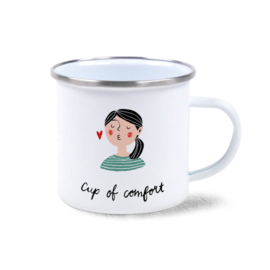Emaille mok | Cup of comfort