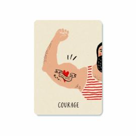 Kaart   Courage