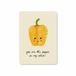 Kaart   You are the pepper
