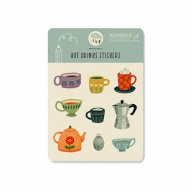 Stickervel | hot drinks