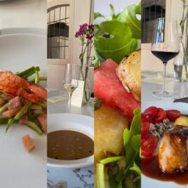 De 3 van Pim: wekelijks wisselend menu incl amuse, brioche, boter en friandise!
