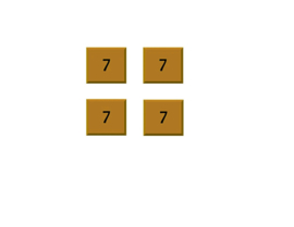 Thin Square 7 inch (pack 4 pcs)