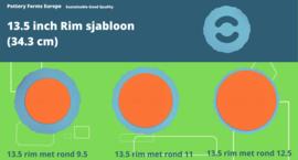 Rim sjabloon 13.5 inch (34.3 cm)