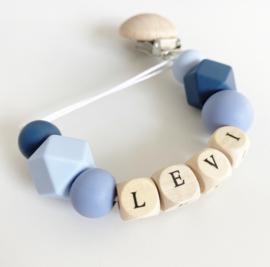 Speenkoord met naam Levi