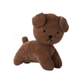 Nijntje Snuffie knuffel corduroy 17 cm | bruin