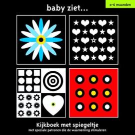 Baby ziet.. kijkboek met spiegeltje