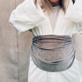 Belly wrap | velvet taupe