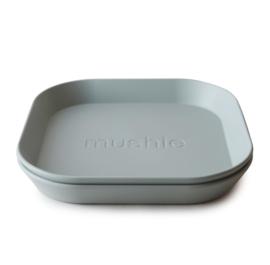 Mushie bord vierkant Sage