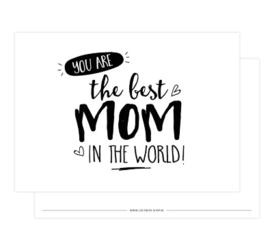 Kaart | Your the best mom