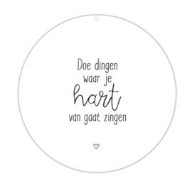 Roundie | 30cm | Hart zingen