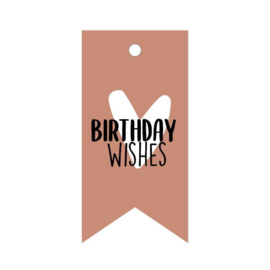 Gifttags | Birthday wishes