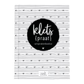 Invulboek   Kletspraat