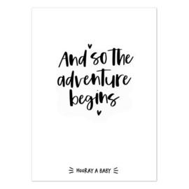 Kaart | And so the adventure begins