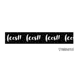 Washi tape 'Feest'