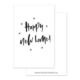 Mini kaartje | Happy new home