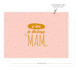 kaart | Je bent de allerliefste MAM!