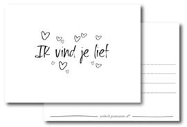 Kaart | Ik vind je lief