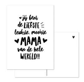 Kaartje | Liefste mama