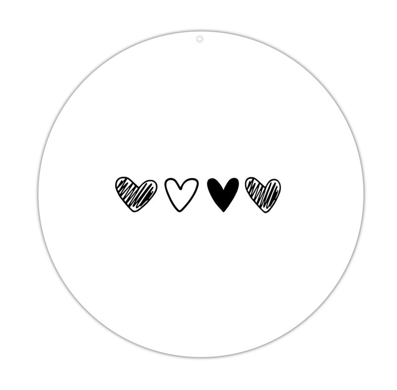 Roundie | 40cm | More hearts
