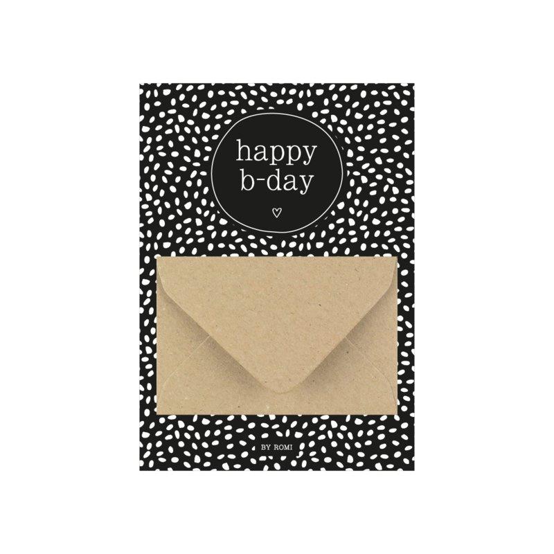 Geldkaart | Happy b-day