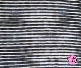 Jersey Blauw wit streep