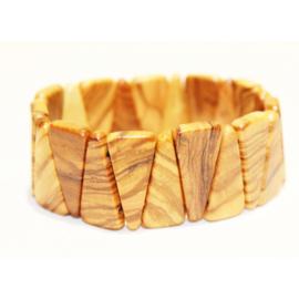 Bracelet uit olijfhout