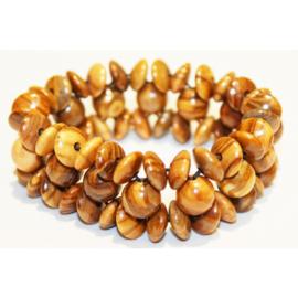 Armband uit olijfhout