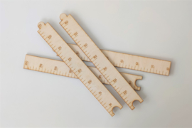 Groeimeter // Blanco