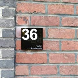 Huisnummer - gepersonaliseerd