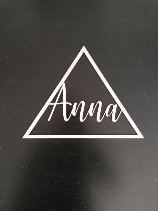 Naamcirkel driehoek