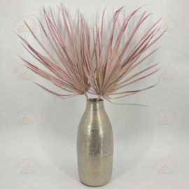Gedroogd palmblad Frosted Pink- 2 stuks