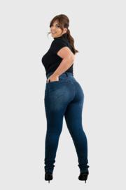 Fox Factor Iri Smokey Blue - Slim fit jeans