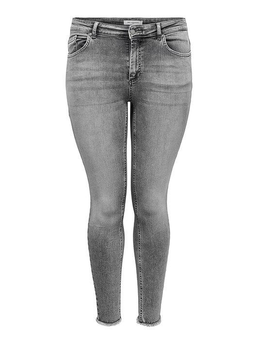 Only Willy jeans in gewassen grijs