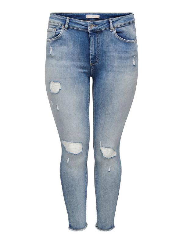 Only Willy destroyed jeans in Light Blue