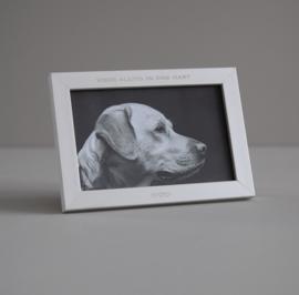 Fotolijstje met eigen tekst 10 x 15 cm