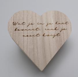 Hartendoosje - Wat je in je hart bewaart