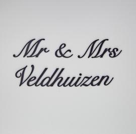 Mr & Mrs ......