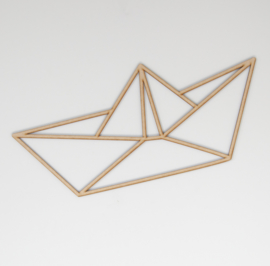 Geometrisch bootje
