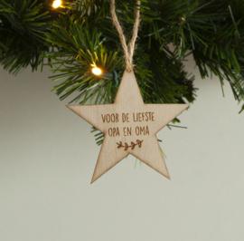Kersthanger ster