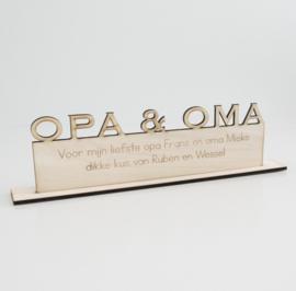 Trofee  opa & oma
