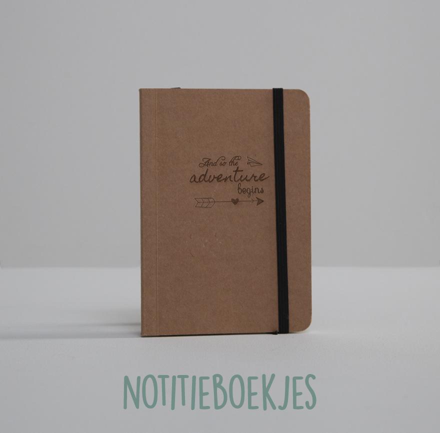 Gepersonaliseerde notitieboekjes, gegraveerd