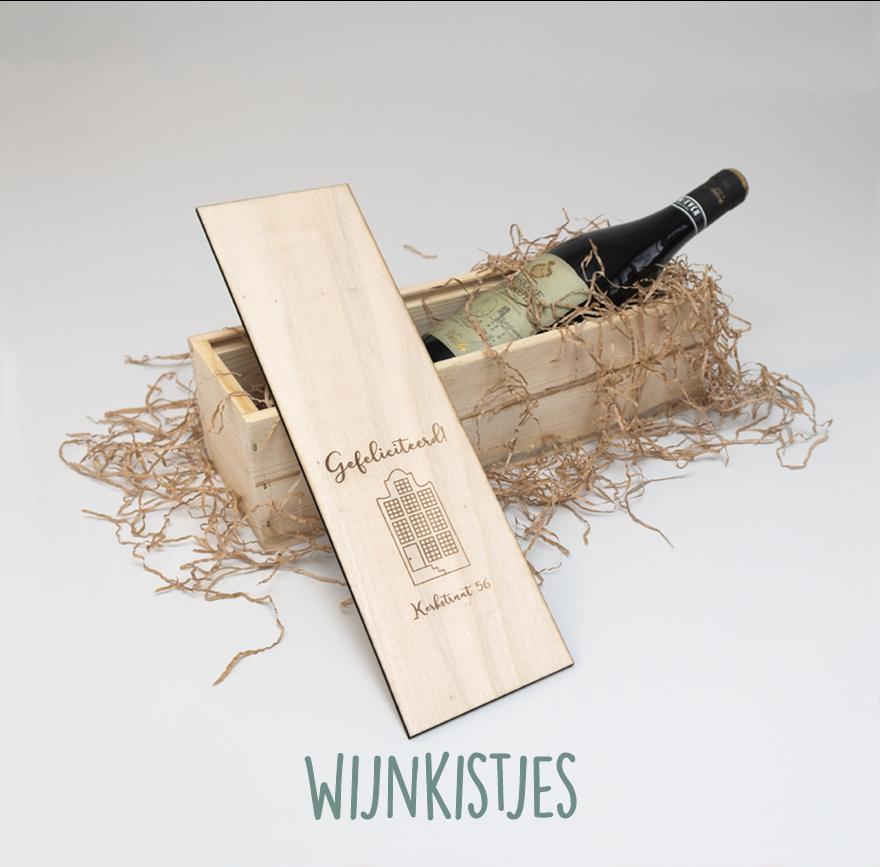Gepersonaliseerde wijnkistjes