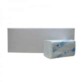 Handdoekjes Z Flushable cellulose 3 lgs 22 x 22 cm