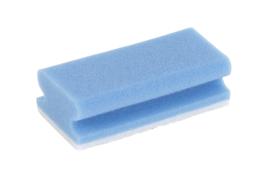 Interieur spons (blauw) - 10 stuks