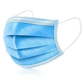 Blayco medische mondmasker type IIR met elastiek - 50 stuks