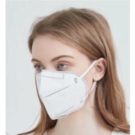 Mondmasker FFP2 - EN149:2001 + A1 2009 - 20 stuks - Nederlands Certificaat