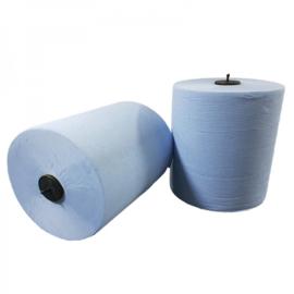 Handdoekrol Matic blauw